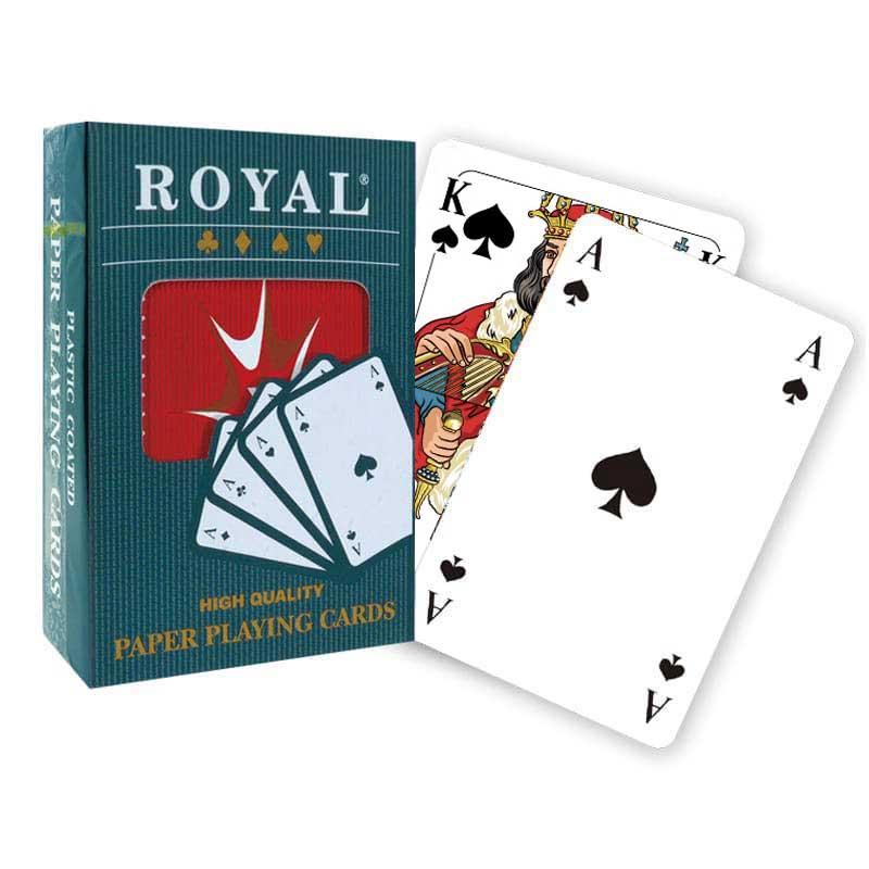 Kraliyet Kağıt Oyun Kartları - Avrupa Endeksi
